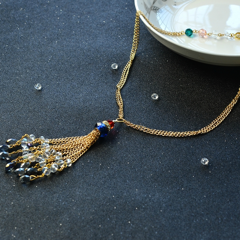 Golden-Long-Chain-Beaded-Necklace-6