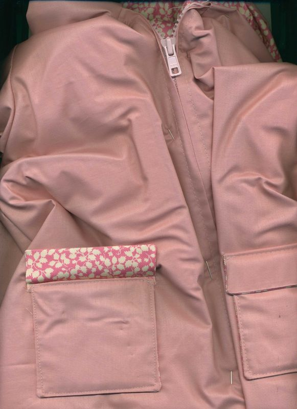 coton ciré rose (épuisé)