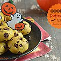 Cookies au potiron, chocolat & beurre de coco