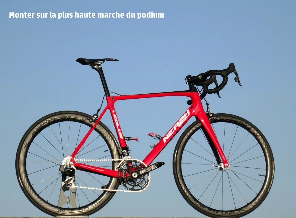 Cadre carbone route EOLUS superlight