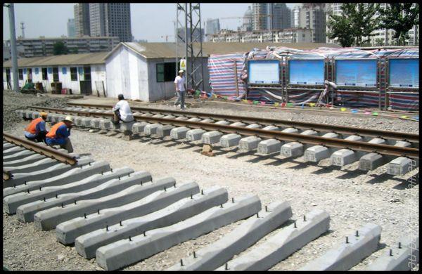 voies de chemin de fer de Chine grande vitesse et petite vitesse 08