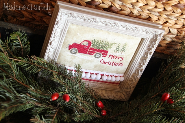 Old christmas Truck 1