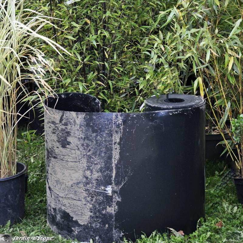 Barrière anti-rhizome de bambou