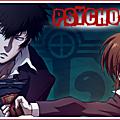 Saison 2 – épisode20: psycho-pass