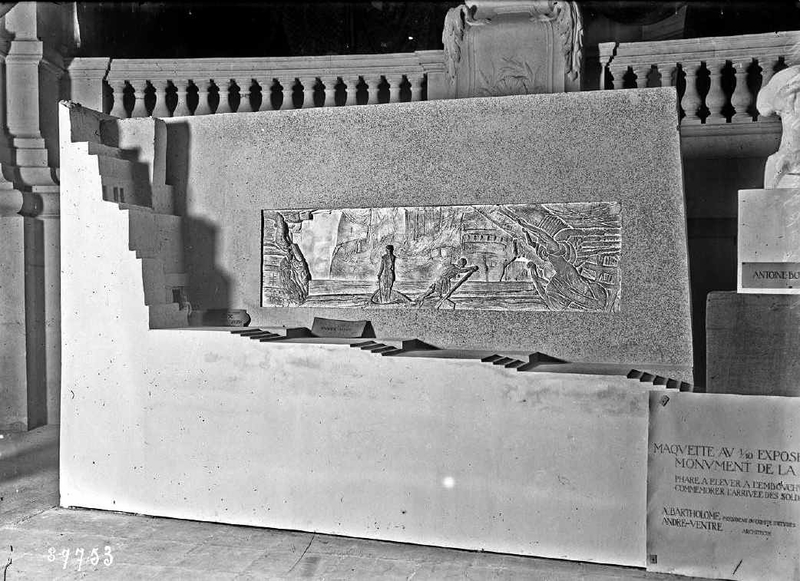 Maquette grd Palais 1923