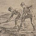 Dessin Van Gogh - les_becheurs