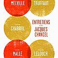 Quand 5 très grands cinéastes français s'entretiennent avec jacques chancel