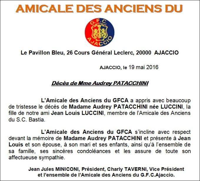 7972ceb0ffb3 01 - 1614 - Décès Audrey PATACCHINI née Luccini - 19 05 2016 ...