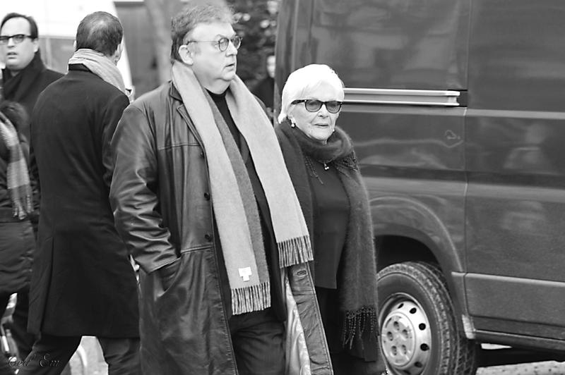 Dominique Besnehard et Line Renaud