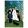 Art naïf 1905_La noce_Rousseau -Douanier Rousseau-