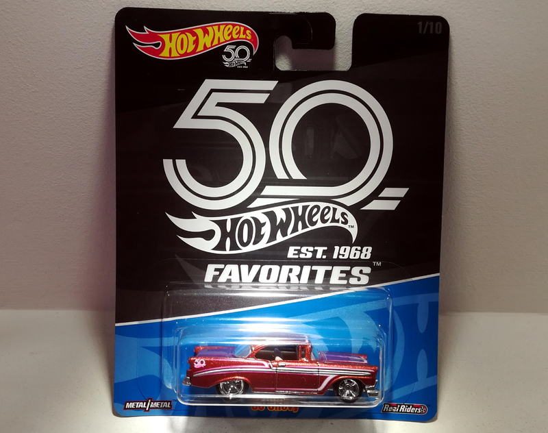 Chevrolet Chevy 1956 (Hotwheels Favorites)