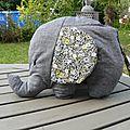 Le doudou éléphant