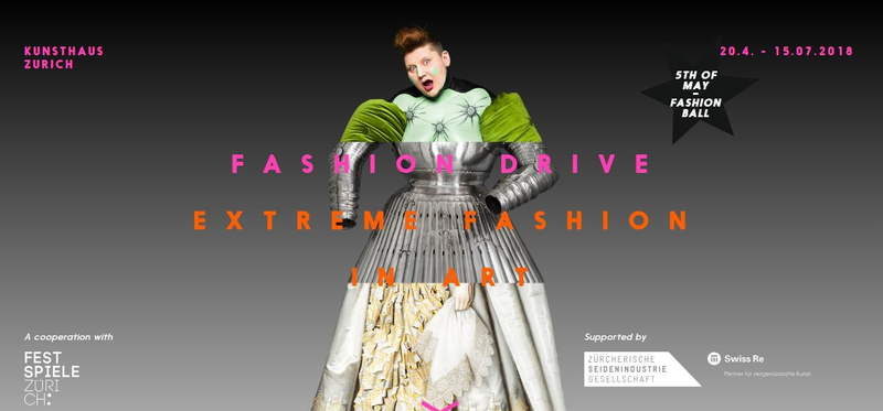 467a245f929e Kunsthaus Zürich presents 'Fashion Drive. Extreme Clothing in the Visual  Arts'