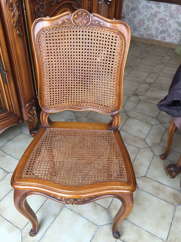 (6) chaise