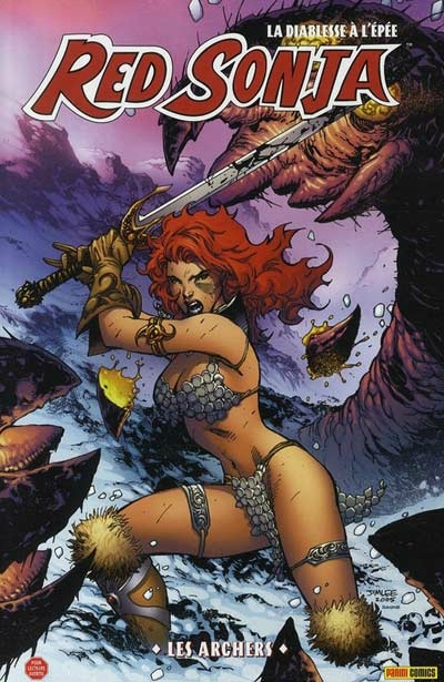 panini red sonja 02 les archers