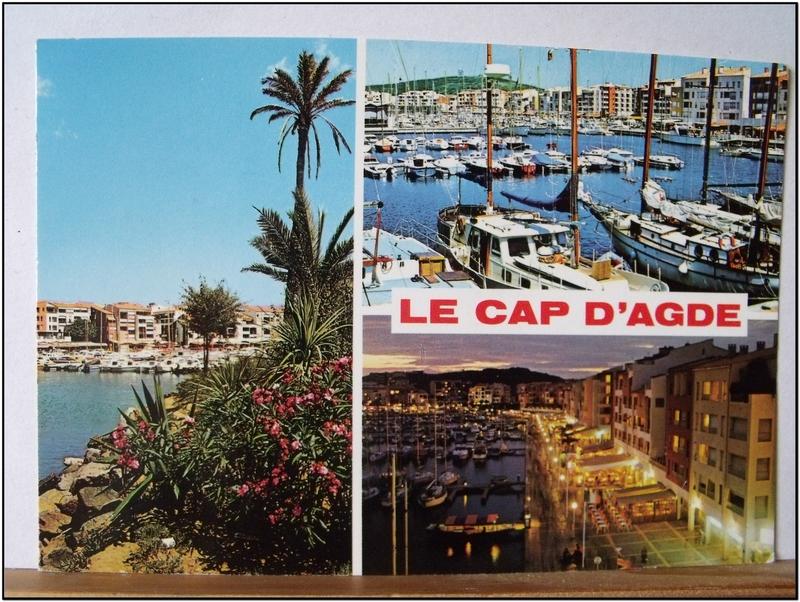 Cap d'Agde - datée 1987