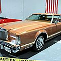 Lincoln continental mark V hardtop coupe de 1977 (RegioMotoClassica 2010) 01