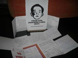 panchen lama birthday Card