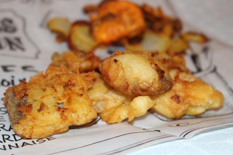 fish and chips lieu noir