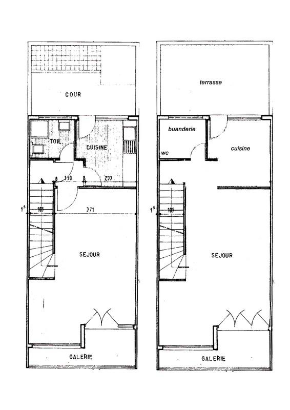 plan avant apres 1e etage