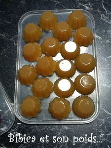 Bonbons à la pomme à l'agar-agar