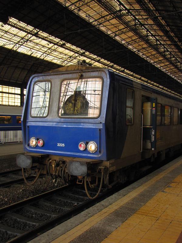 X 2225 bleu, Bordeaux St Jean