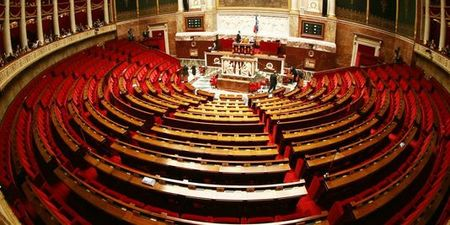 Assemblée nationale vide