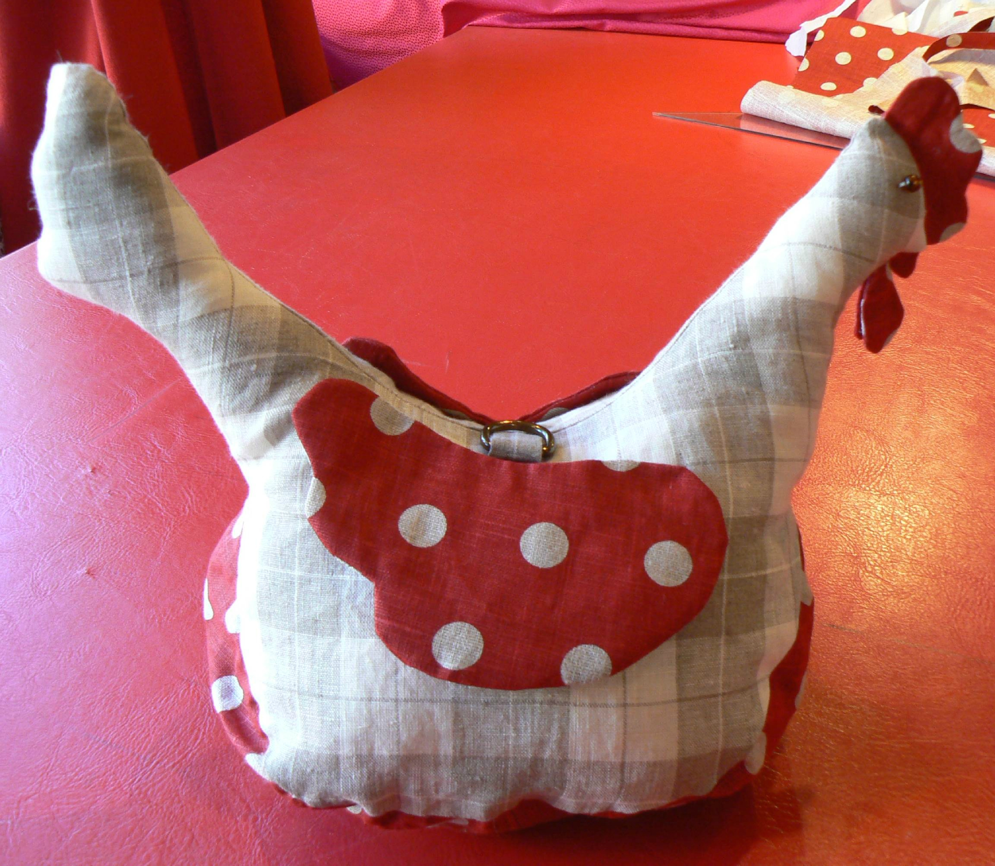 poule sac à sac marjorie g creation