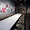 Le lieu unique / scénographie du grand atelier pour le festival atlantide avec les éditions memo