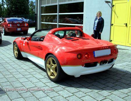 Lotus elise roadster (Alsace Auto Retro Bartenheim 2011) 02