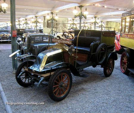 Renault type AX fourgon de 1911 (Cité de l'Automobile Collection Schlumpf à Mulhouse) 01