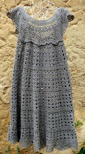 robe crochet phildar 42 46