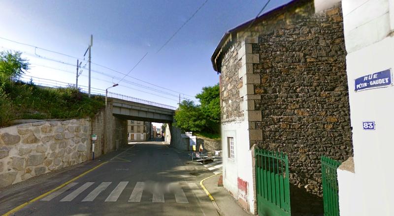 Pont Noir rue Pétin-Gaudet 2008