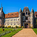 Chateau de saint-germain-de-livet - calvados - france