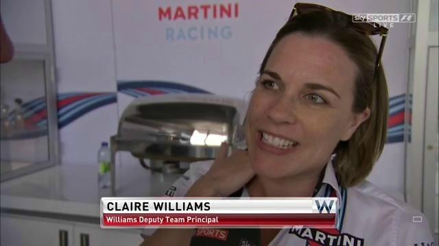 williams race day brazil claire deputy