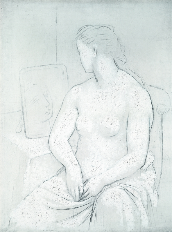Pablo Picasso (Spanish, 1881-1973), Nu assis (Seated Nude), c