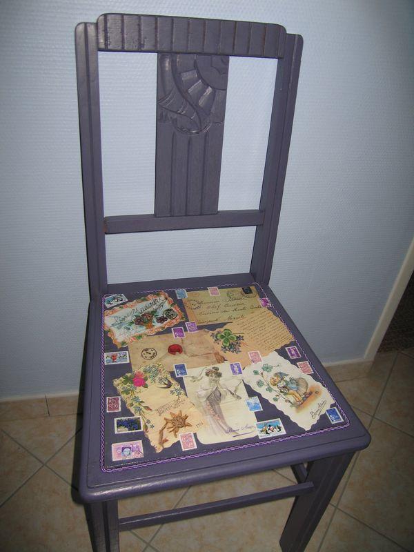 la chaise d'un collectionneur