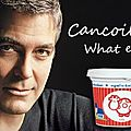 George clooney : cancoillote what else !!