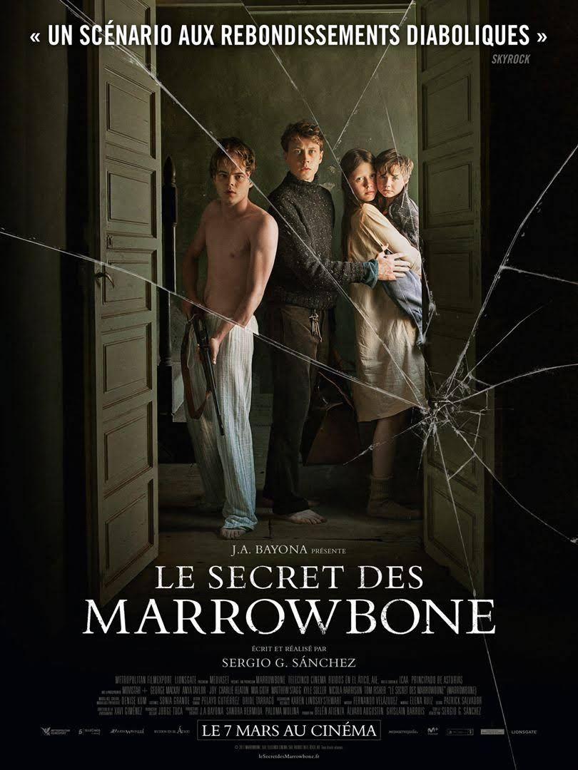 LE SECRET DES MARROWBONE - par Sergio G.Sanchez