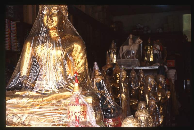 Bouddha celophané-2539-REDUX-FOM'SEL & Thanon-Oδυσσεύς-François MONTAGNON