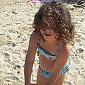 Un bel été : eve à la plage