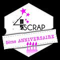 5ème anniversaire de 4enscrap - jour 4