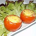 Quiche façon tomates farcies