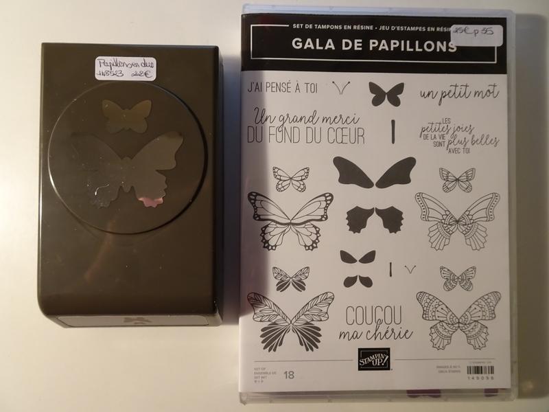 Lot Gala de papillons