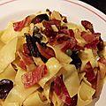 Pâtes à la pancetta croustillante et autres bonnes choses