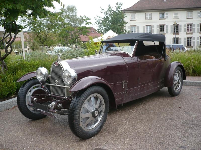 BUGATTI type 43 Molsheim (1)