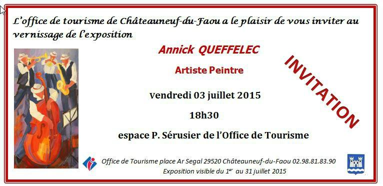 Carton d'invitation 3 juillet 2015
