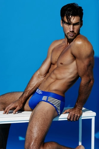 ES Collection - Stripe Mix Brief