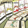 Serie cartes de voeux licorne