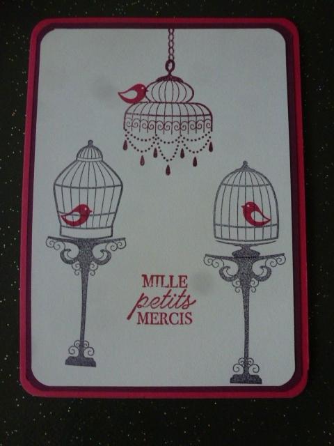 18 Carte lustre et Cages à oiseaux
